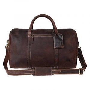 Sac weekend homme cuir marron - acheter les meilleurs produits TOP 4 image 0 produit