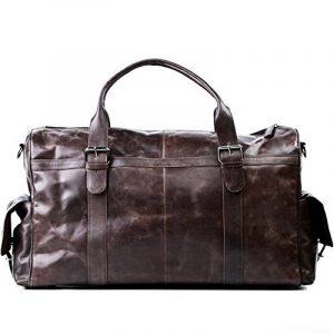 Sac weekend homme cuir marron - acheter les meilleurs produits TOP 5 image 0 produit