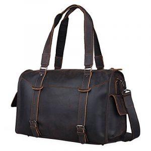 Sac weekend homme cuir marron - acheter les meilleurs produits TOP 6 image 0 produit