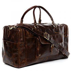 Sac weekend homme cuir marron - acheter les meilleurs produits TOP 8 image 0 produit
