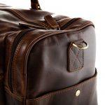 Sac weekend homme cuir marron - acheter les meilleurs produits TOP 8 image 2 produit