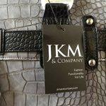 Sacoche à Roulettes Pour Femme, Gris et Noir Alligator Pour Transporter iPad, Tablette ou Ordinateur de la marque JKM & Company image 4 produit