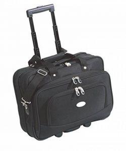Sacoche Trolley à roulettes avec plusieurs compartiments et emplacement pour ordinateur portable de la marque Unbekannt image 0 produit