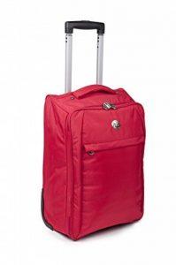 Sacs de cabine pour Easyjet chariot de Voyage valise pour la plupart des compagnies aériennes - porter sur les sacs (rouge) de la marque SunRise image 0 produit