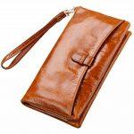 SAIERLONG® Femmes Wallet Zipper Cuir Véritable Portefeuille de la marque SAIERLONG image 2 produit