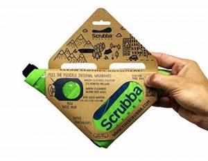 Scrubba Sac de Lavage de Linge Portatif (modèle 2017) - pour le Voyage, le Camping, la Randonnée et la Lessive dans n'Importe quel Endroit, Vert de la marque Scrubba image 0 produit