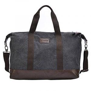 Sel Natural sac de voyage Toile Holdall grand sac à main de week-end Voyage Sac Totes Sac à bandoulière de la marque Sel Natural image 0 produit