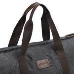 Sel Natural sac de voyage Toile Holdall grand sac à main de week-end Voyage Sac Totes Sac à bandoulière de la marque Sel Natural image 4 produit