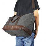 Sel Natural sac de voyage Toile Holdall grand sac à main de week-end Voyage Sac Totes Sac à bandoulière de la marque Sel Natural image 6 produit