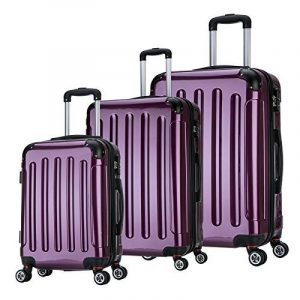 Set 3 valises polycarbonate : top 15 TOP 7 image 0 produit