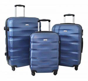 """Set de 3 Valises Alistair """"Fly"""" - ABS Ultra Légères - 4 Roues de la marque Alistair image 0 produit"""
