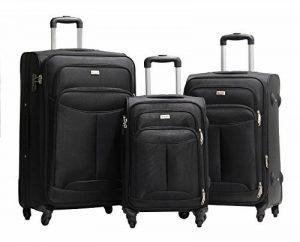 Set de 3 Valises Alistair One 55-65-75cm - Toile Nylon Ultra Léger - 4 Roues de la marque Alistair image 0 produit
