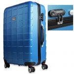 Set de 3 valises étui rigide avec verrou pour business voyage - coloris au choix de la marque Deuba image 1 produit
