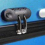 Set de 3 valises étui rigide avec verrou pour business voyage - coloris au choix de la marque Deuba image 2 produit