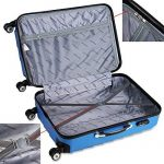 Set de 3 valises étui rigide avec verrou pour business voyage - coloris au choix de la marque Deuba image 4 produit