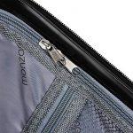Set de 3 valises étui rigide avec verrou pour business voyage - coloris au choix de la marque Deuba image 6 produit
