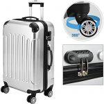 Set de 3 Valises rigides Bagage Cadenas Roulettes jumelles Trolley Premium Solo de la marque Deuba image 1 produit