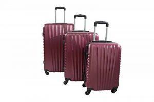 """Set de 3 valises rigides - Trolley ADC """"Elegant"""" (S,M,L) 245 Litres. de la marque TROLLEY ADC image 0 produit"""