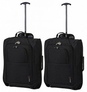 Set de Deux Bagage à Main Valise à Roulettes Bagage de Cabine de la marque 5 Cities image 0 produit
