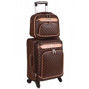 Set de trois valises SMART PVC II 2129 + VANITY/CASE OFFERT de la marque Snowball image 0 produit