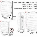 Set de valise trolley : faire des affaires TOP 14 image 4 produit