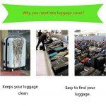 SINOKAL élastique 18-20 pouces 22-24 pouces 26-28 pouces 30-32 pouces Couvre bagages pour valises couverture de protection (Couverture seulement, ne comprend pas la valise) de la marque SINOKAL image 3 produit