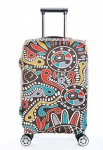 SINOKAL élastique 18-20 pouces 22-24 pouces 26-28 pouces 30-32 pouces Couvre bagages pour valises couverture de protection (Couverture seulement, ne comprend pas la valise) de la marque SINOKAL image 0 produit