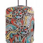 SINOKAL élastique 18-20 pouces 22-24 pouces 26-28 pouces 30-32 pouces Couvre bagages pour valises couverture de protection (Couverture seulement, ne comprend pas la valise) de la marque SINOKAL image 1 produit