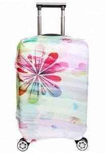SINOKAL élastique Couvre bagages pour valises couverture de protection (Couverture seulement, ne comprend pas la valise) de la marque SINOKAL image 0 produit