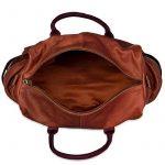 STILORD 'Travis' Sac de voyage cabine en cuir sac à bandoulière petit vintage pour homme femme sac pour week-end sport excursion en véritable cuir de buffle de la marque STILORD image 3 produit