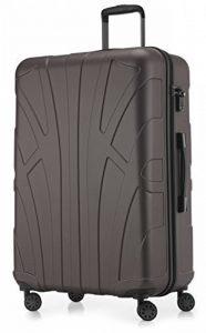 Suitline - Valise grande rigide Bagage Trolley 4 roues, TSA, 76 cm, 110 litres de la marque SUITLINE image 0 produit