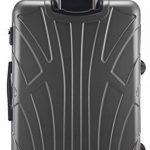 Suitline - Valise grande rigide Bagage Trolley 4 roues, TSA, 76 cm, 110 litres de la marque SUITLINE image 2 produit