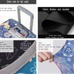 Sulida® Housse de valise bagage en tissu Élastique Bagages Couverture Imprimé Valise Couverture Protecteur housse de bagage de la marque Sulida image 3 produit
