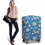 Sulida® Housse de valise bagage en tissu Élastique Bagages Couverture Imprimé Valise Couverture Protecteur housse de bagage de la marque Sulida image 6 produit