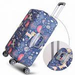 Sulida® Housse de valisse bagage en tissu Élastique Bagages Couverture Imprimé Valise Couverture Protecteur housse de bagage beaucoup de motifs pour choisir. de la marque Sulida image 3 produit