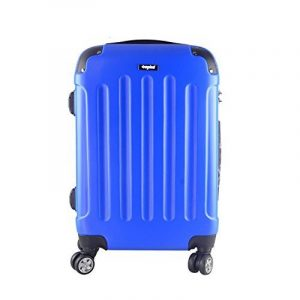 Sunydeal Valise cabine 36L / 58L / 80L - ABS ultra Léger - 4 roues - Bleu / Noir / Café - Garantie de 12 mois de la marque SUNYDEAL image 0 produit