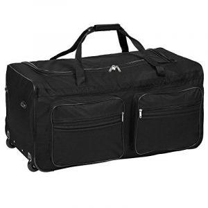 TecTake Grand sac de voyage XXL valise trolley à roulettes | 160 litres | poignée télescopique | diverses couleurs au choix de la marque TecTake image 0 produit