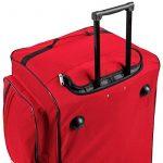 TecTake Grand sac de voyage XXL valise trolley à roulettes | 160 litres | poignée télescopique | diverses couleurs au choix de la marque TecTake image 4 produit