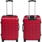 TecTake Set de 3 valises de voyage de ABS | avec serrure à combinaison intégrée | poignée télescopique | roulettes 360° | Bordeaux de la marque TecTake image 3 produit