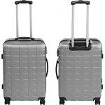 TecTake Set de 3 valises de voyage de ABS | avec serrure à combinaison intégrée | poignée télescopique | roulettes 360° - diverses couleurs au choix (Argent| no. 402672) de la marque TecTake image 3 produit