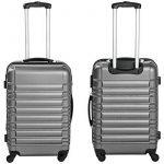 TecTake Set de 4 valises de voyage de ABS avec serrure à combinaison intégrée | poignée télescopique | roulettes 360° - diverses couleurs au choix - de la marque TecTake image 5 produit