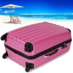 TecTake Set Lot de 3 valises Trolley rose valise rigide - avec serrure à combinaison intégrée - poignée télescopique - roulettes 360° de la marque TecTake image 3 produit