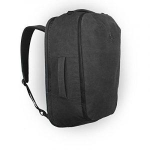 The Arcido Bag : Sac à dos et bagage à main Arcido avec compartiment amovible et adaptable pour PC portable, trousse de toilette et étui à documents - Toile imperméable [55 x 35 x 20cm] de la marque Arcido image 0 produit