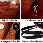 Tibes mode sac à bandoulière en cuir synthétique imperméable sac à main de la marque Tibes image 2 produit