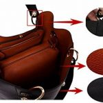 Tibes mode sac à bandoulière en cuir synthétique imperméable sac à main de la marque Tibes image 3 produit