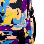 TININNA Unisexe Sac à Dos Loisir Camouflage Imperméable Décontracté En Nylon Cartable Sac de Voyage Havresac de la marque TININNA image 3 produit