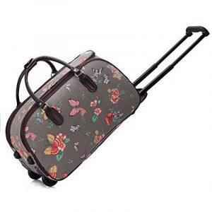 Trendstar Mesdames Voyage HOLDALL Sacs bagages à main des femmes de papillon Weekend à roulettes Trolley Sac à main de la marque Trendstar image 0 produit
