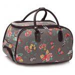 Trendstar Mesdames Voyage HOLDALL Sacs bagages à main des femmes de papillon Weekend à roulettes Trolley Sac à main de la marque Trendstar image 1 produit
