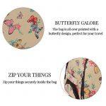 Trendstar Mesdames Voyage HOLDALL Sacs bagages à main des femmes de papillon Weekend à roulettes Trolley Sac à main de la marque Trendstar image 4 produit
