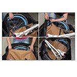 Triwonder souple Vélo Voyage Cases de vélo Housse de transport/sac de transport Sac de transport de la marque Triwonder image 4 produit